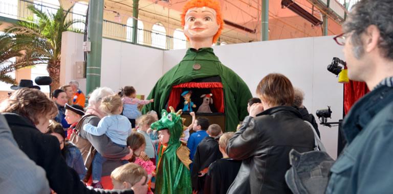Le P'tit Jacques au Carnaval du Palais Rameau