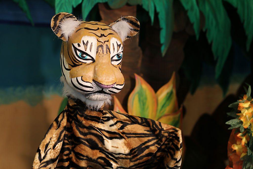 le tigre de la jungle