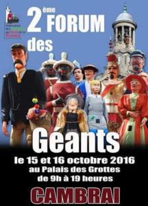 fête des géants à Cambrai