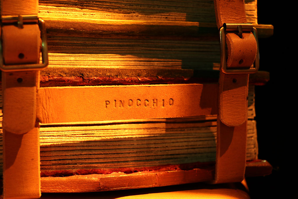 Pinocchio et l'alphabet